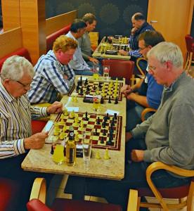 Erste Runde Blitzmeisterschaft 2015